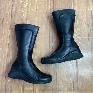 Aldo Chunky Black Boots Size 7